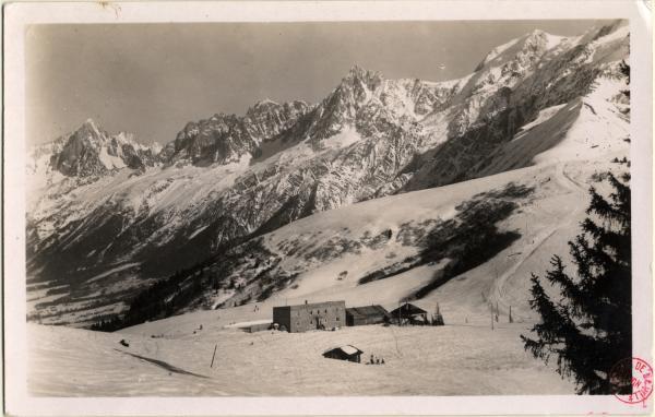 Le Col de Voza et les Aiguilles de Chamonix