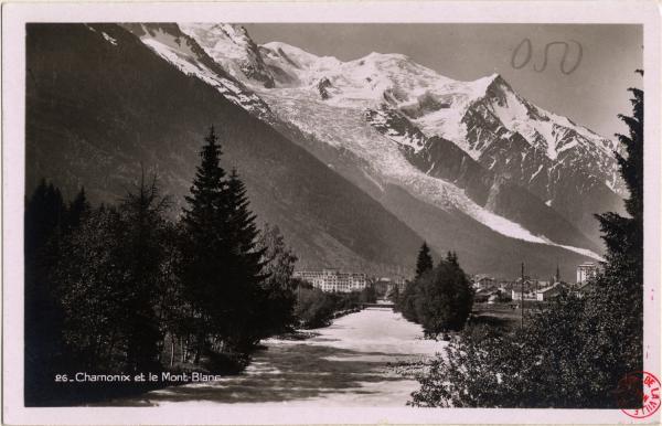 Chamonix et le Mont-Blanc