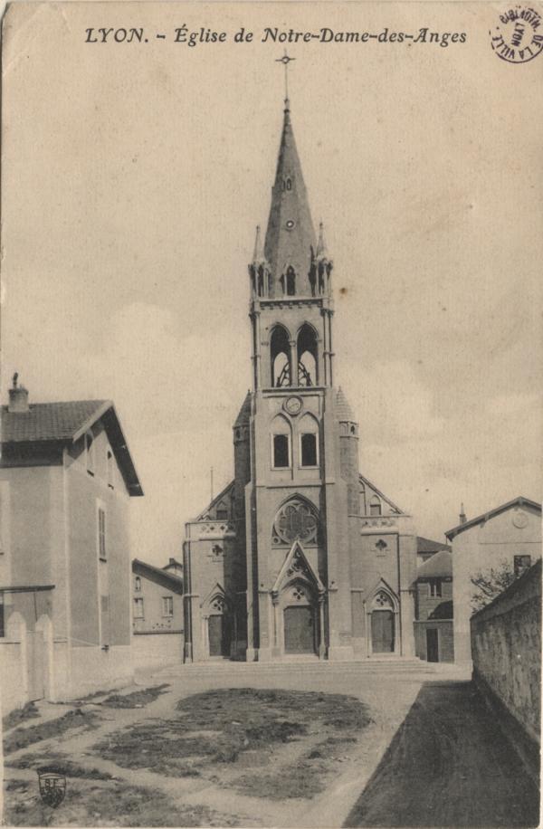 Lyon : Eglise de Notre-Dame-des-Anges