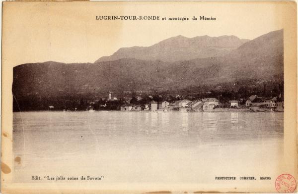 Lugrin-Tour-Ronde et montagne de Mémise