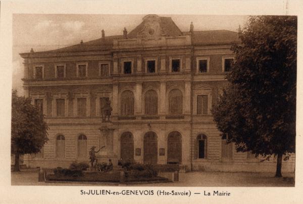 St-Julien-en-Genevois (Hte-Savoie) : Le Mairie