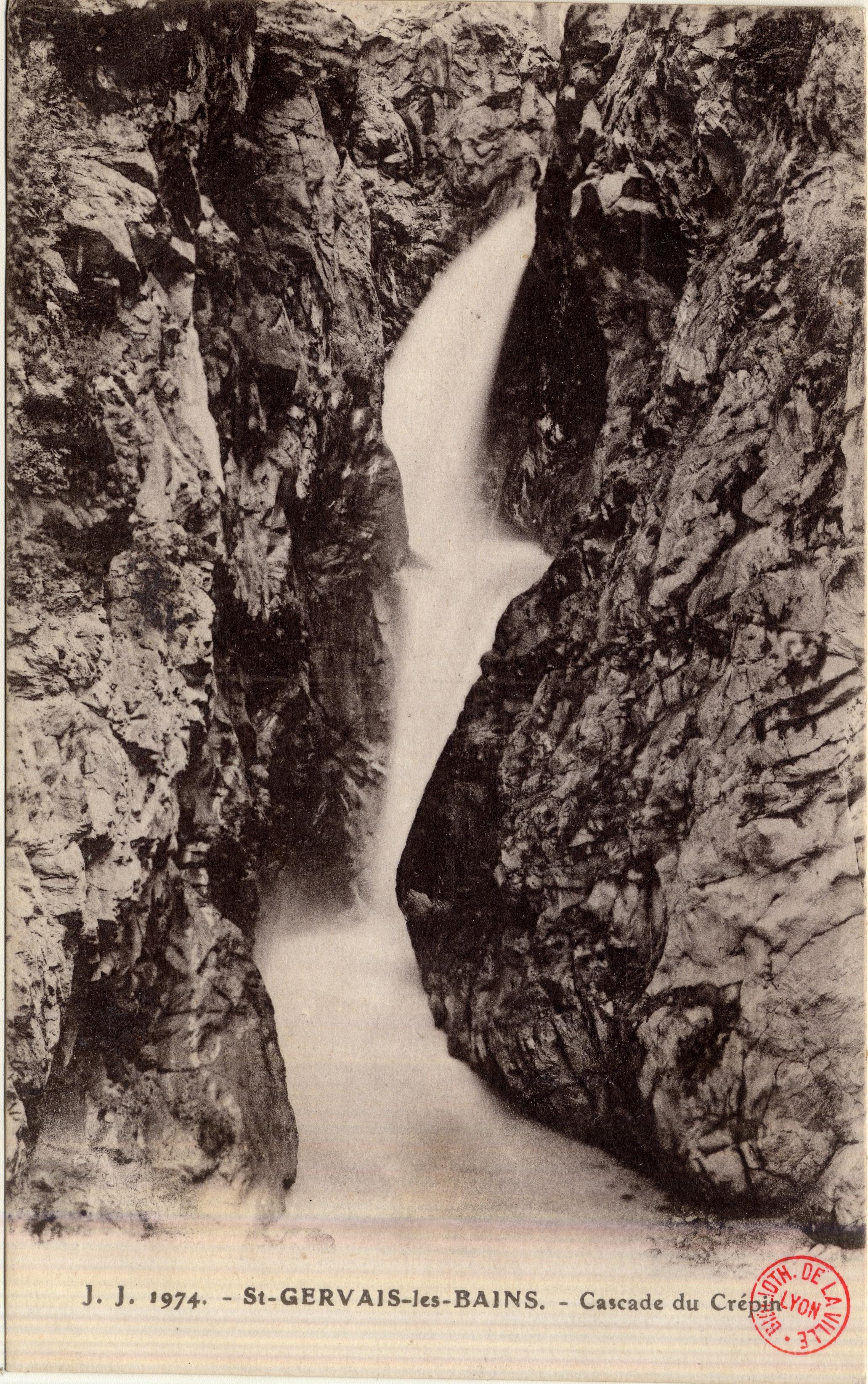 2b4a179700c3 Photographes en Rhône-Alpes  St-Gervais-les-Bains   Cascade du Crépin