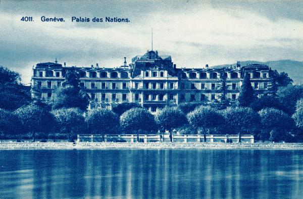 Genève. Palais des Nations