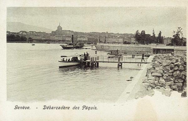 Genève - Débarcadère des Pâquis