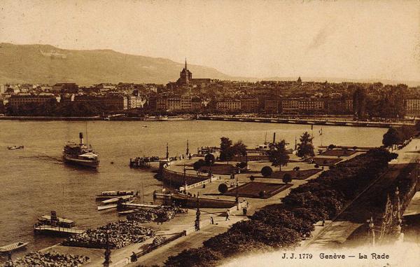 Genève - La rade