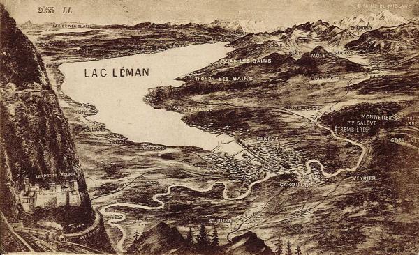 Lac Léman.