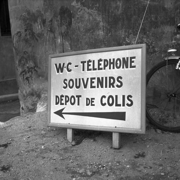 Signalétique : WC, Téléphone...
