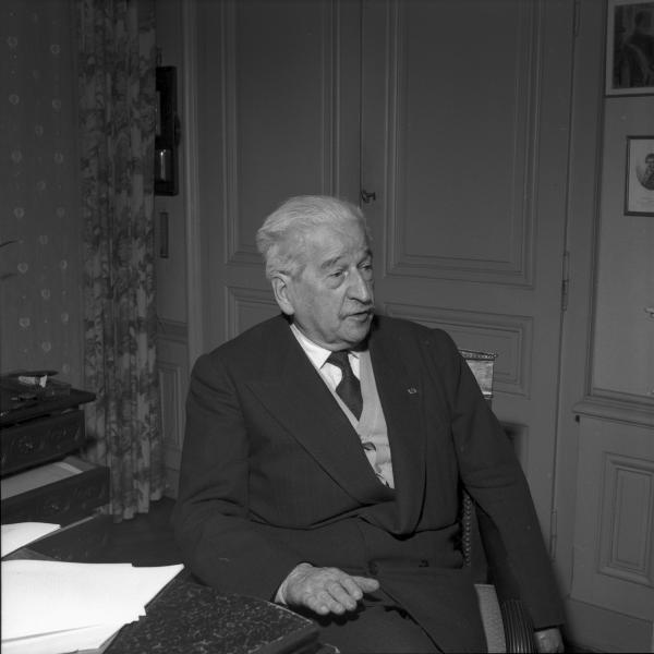 Le professeur Edmond Locard