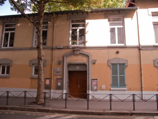 Rue Jean-Marie Chavant : Ecole élémentaire Chavant