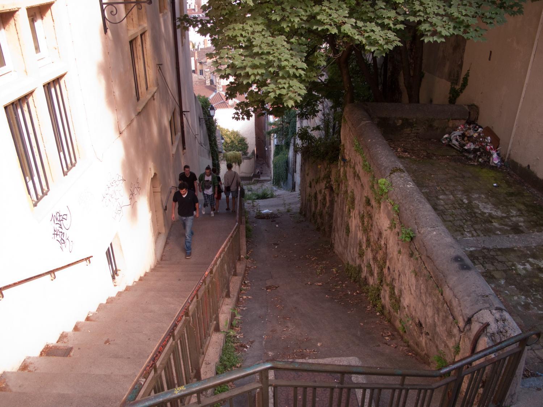 Photographes en rh ne alpes escaliers de la mont e des chazeaux - La montee des escaliers ...