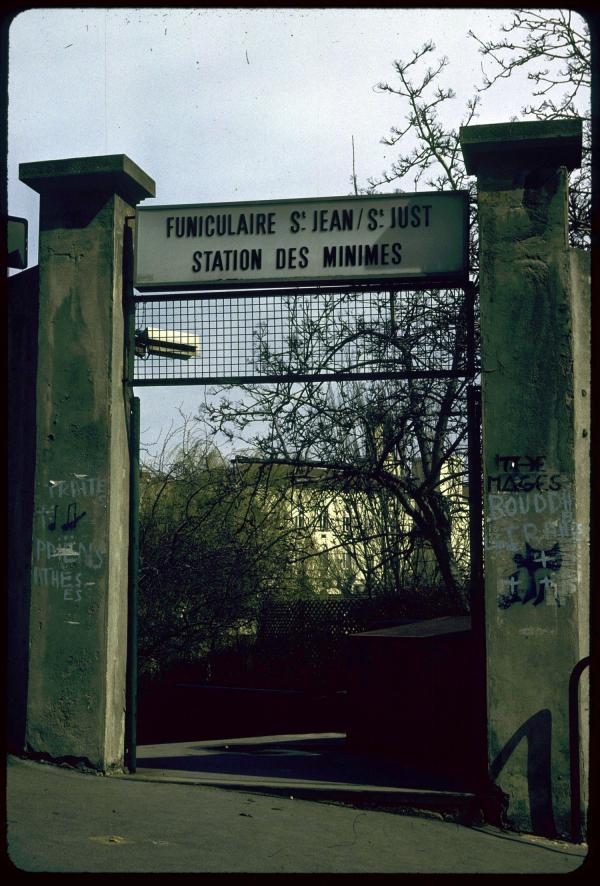 [Funiculaire Saint-Jean Saint-Just : station des Minimes]