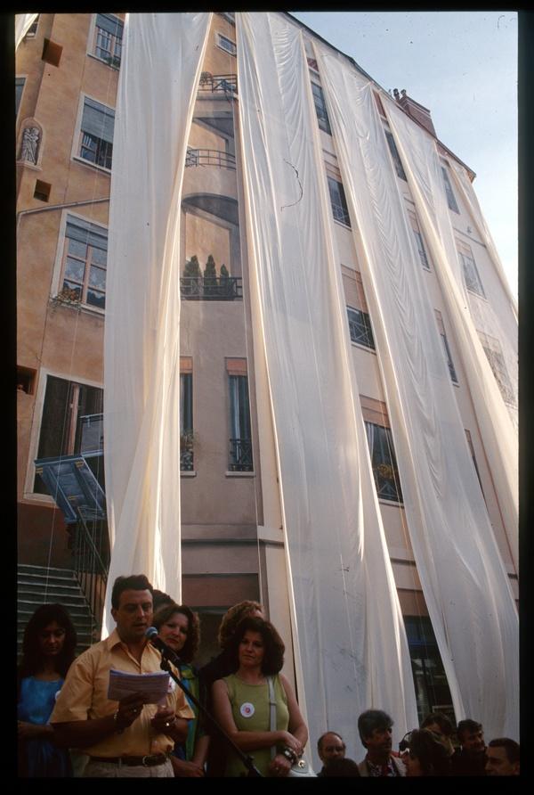 Mur des Canuts : inauguration
