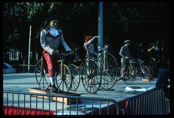 Bellecour : vélos historique