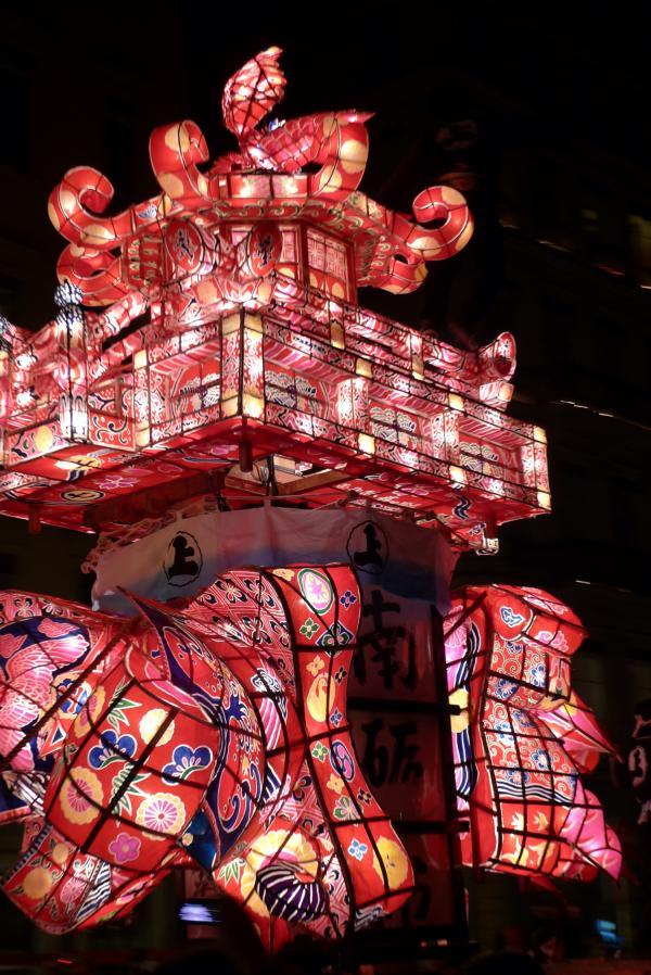 Les lanternes de Fukuno, Fête des lumières 2011