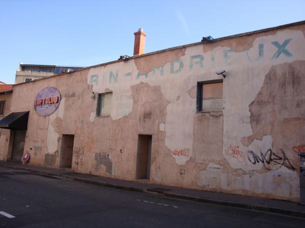Façade rue Renan Impair