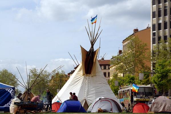 Tente d'indien près du Gros Caillou