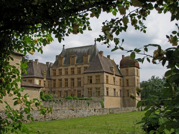 Fareins (Ain) : château de Fléchères
