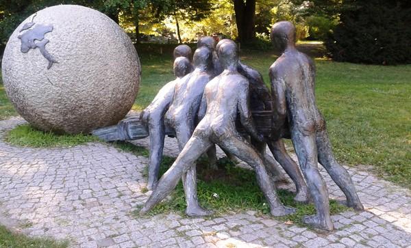 Sculpture au Parc de la Tête d'Or