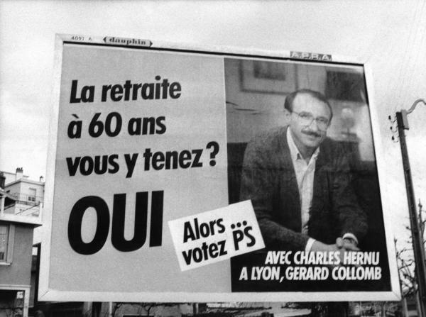 [Affiche de campagne électorale (Parti socialiste)]