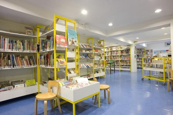 [Salle enfant de la bibliothèque Gerland du 7e arrondissement]