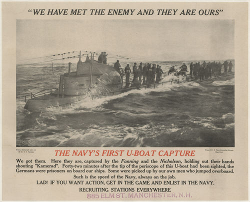 The Navy's first U-boat capture