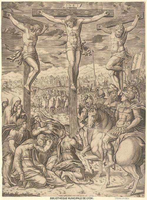 wholesale sales lower price with new concept Jésus Christ à la croix entre les deux larrons - Jésus ...